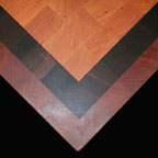 Cherry Wenge and Brazilian Cherry Stripe