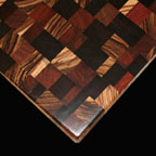 Mixed End Grain Exotic Woods