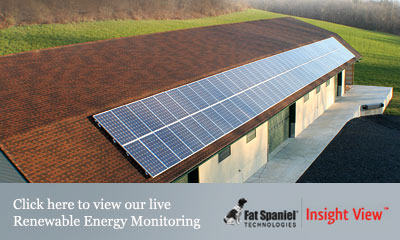 Click here to view our live Renewable Energy Monitoring