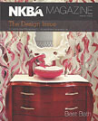 NKBA Magazine The Design Issue Spring 2013 Wenge Wood Countertops