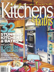 Butcher block Countertop in Signature Kitchens & Baths Winter 2013-2014