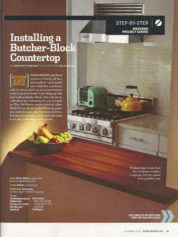 2008 grothouse articles wood countertops butcher block