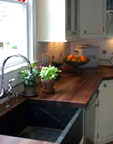 Custom cutouts for sinks, stoves and faucets