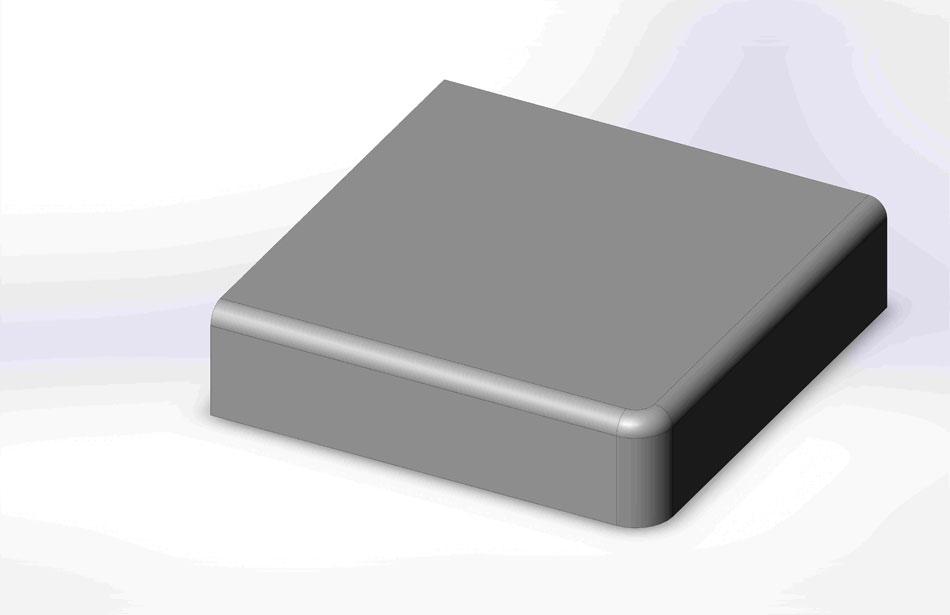 Roundover Countertop Edge Profile