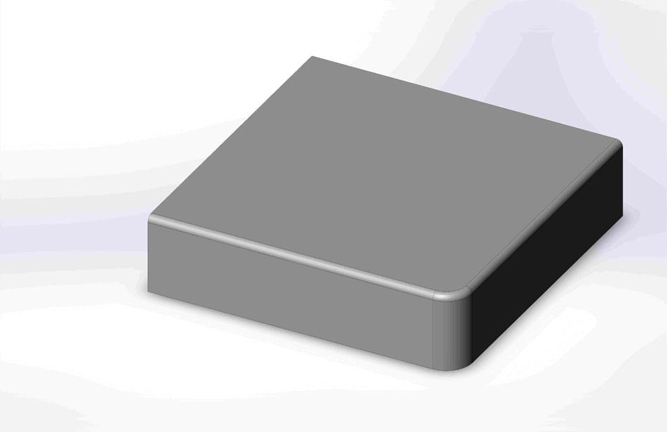 1 8 Roundover Countertop Edge Profile