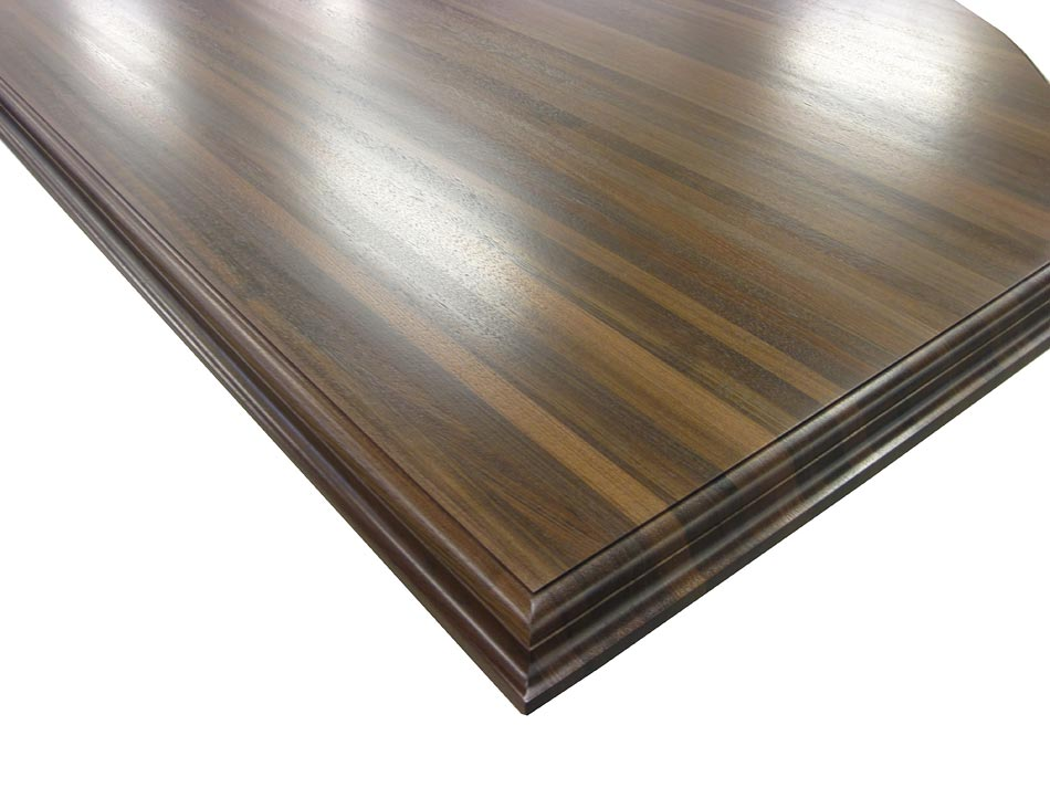 Conventional Double Roman Ogee Countertop Edge Profile