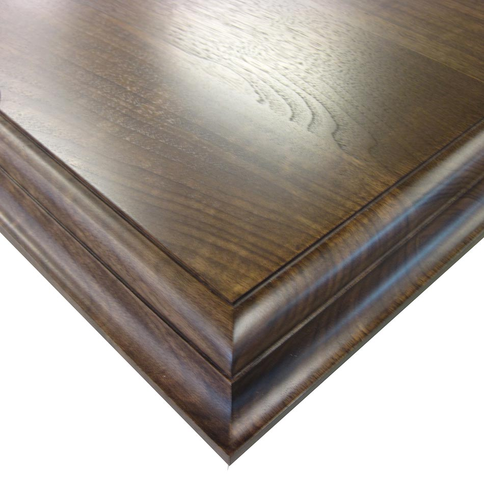 ... All Heartwood with Conventional Double Roman Ogee Countertop Edges
