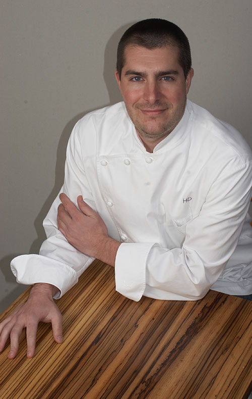 Chef Harold Dieterle chose Grothouse tables for restaurant