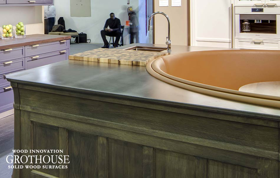 Anvil Exodus Oil Rubbed Bronze Metal Countertop in NYC