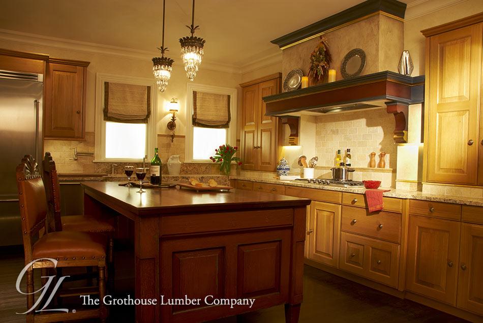 sapele mahogany kitchen island counter