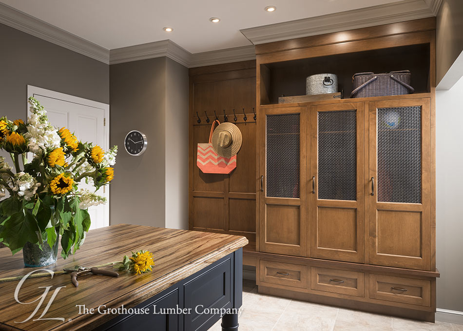 Grothouse Custom Hand Planed Saxon Wood™ Counter