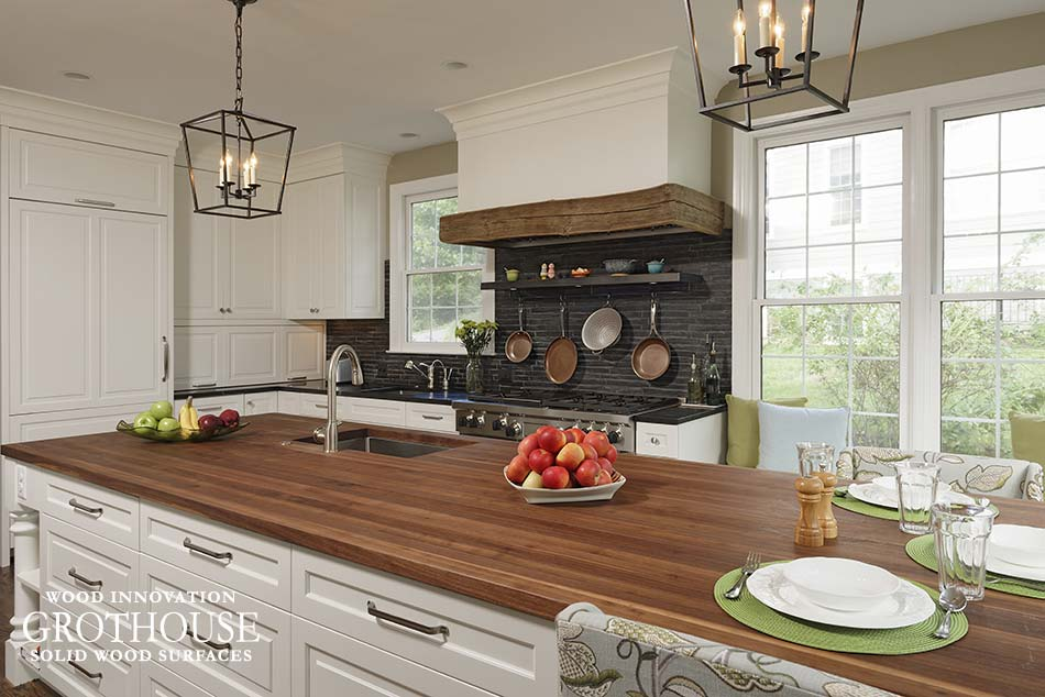 Walnut Kitchen Island Top in MD