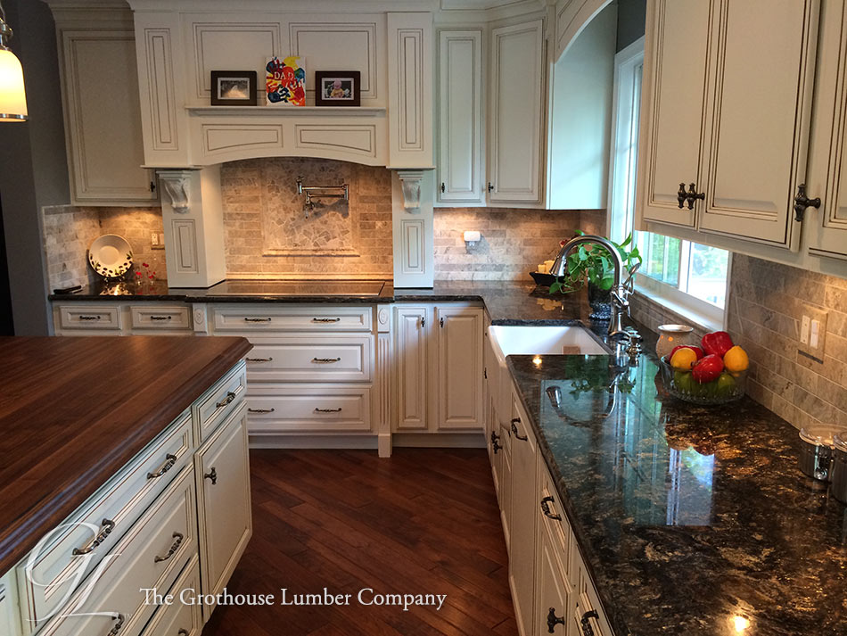 Grothouse Walnut Wood Kitchen Countertop