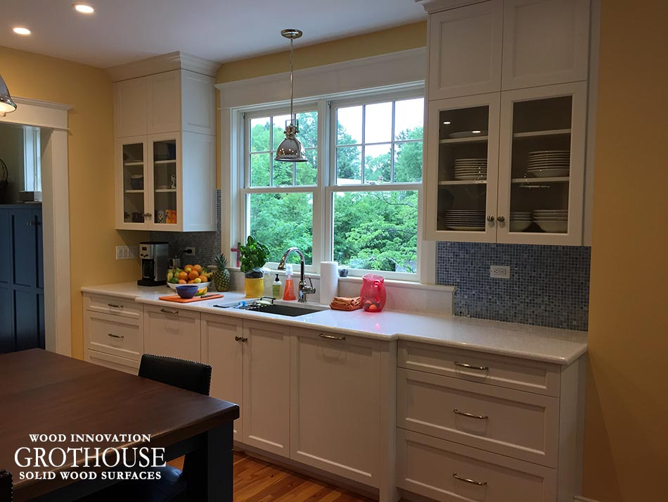 Custom Kitchen Island Countertop Ideas in Falls Church, VA