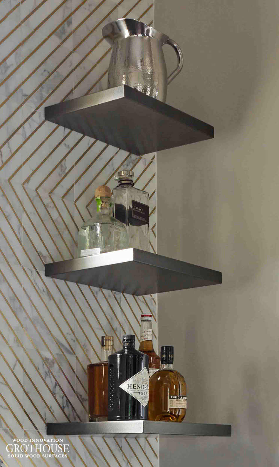 Argentum Metal Shelves for Kitchen of the Year 2016