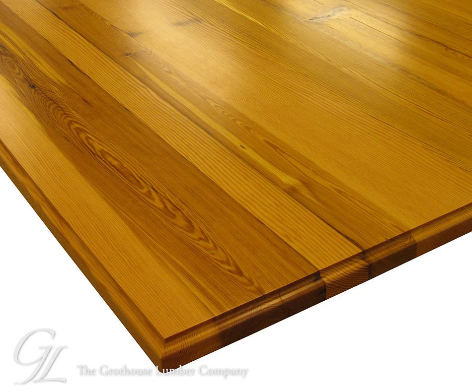 Beau Custom Antique Heart Pine Counter In VA