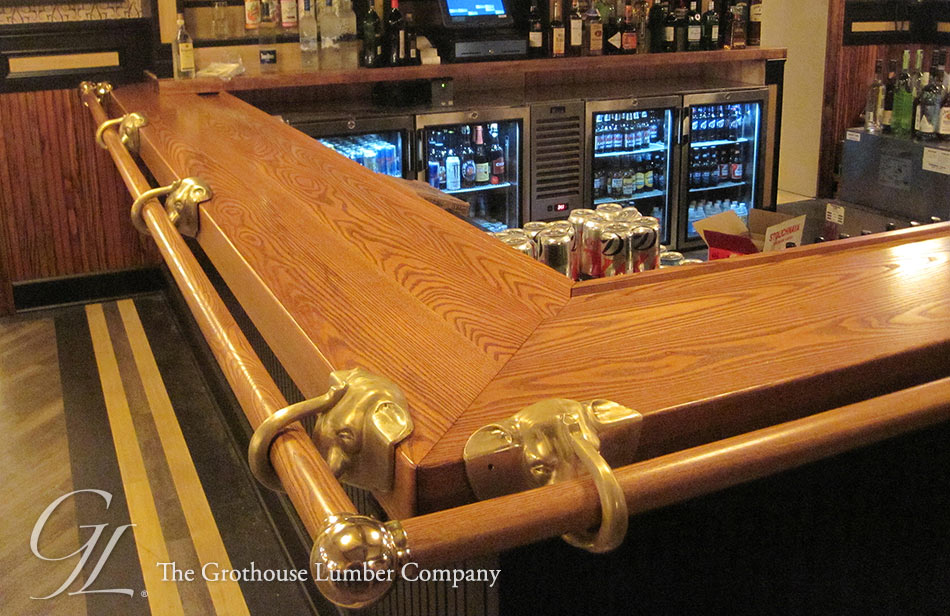 Exceptionnel Custom Ash Wood Bar Top For A Restaurant In Pennsylvania