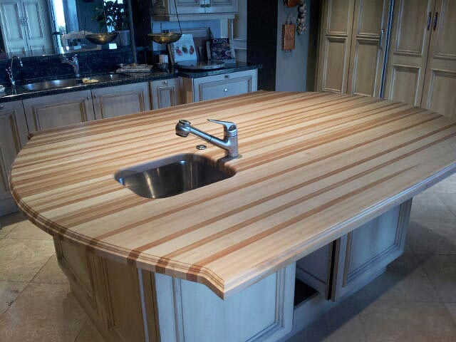 American Beech Wood Countertop in San Antonio, TX - Beech Wood Countertop In San Antonio, Texas