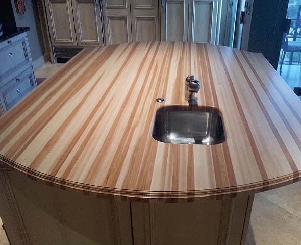 American Beech Wood ~ Beech wood countertop in san antonio texas