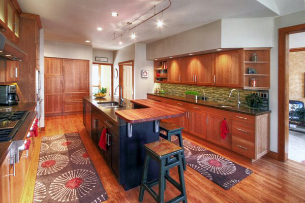 Brazilian Cherry Wood Countertop