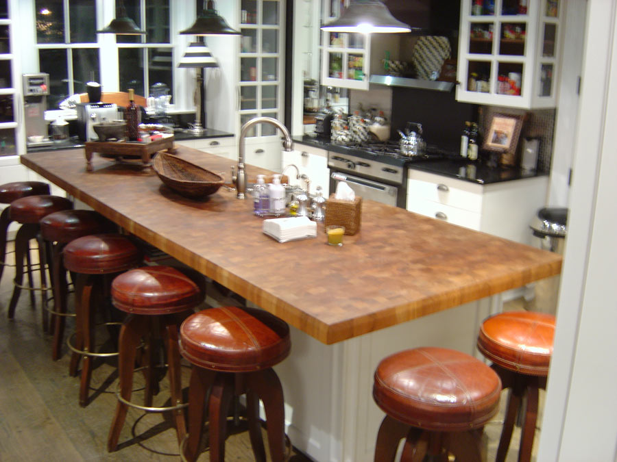 Captivating Teak Butcher Block Countertop In New York, NY