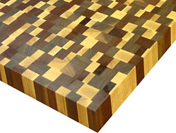Butcher Block Countertop Random Mix Image