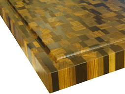 Butcher Block Countertops With Patterns By Grothouse