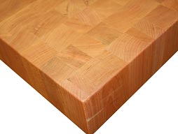 Cherry Butcher Block Countertop Photo