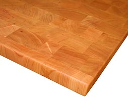 Custom Cherry Butcher Block Photo