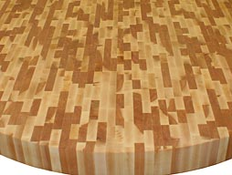 Custom Beech Butcher Block Countertop Photo