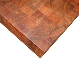 Custom Brazilian Cherry Butcher Block Photo