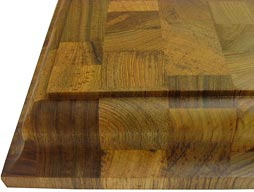 Custom Teak Butcher Block Countertop Photo