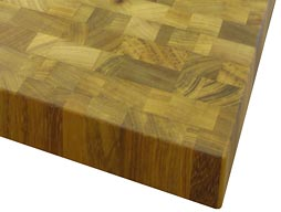 Iroko Butcher Block Countertop Photo