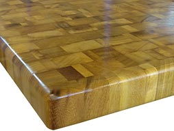 Custom Iroko Butcher Block Countertop Photo