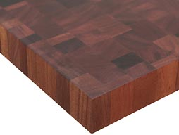 Sapele Mahogany Butcher Block Countertop Photo