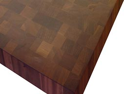 Custom Sapele Mahogany Butcher Block Photo