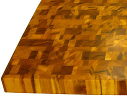 Tigerwood Butcher Block Countertop Photo