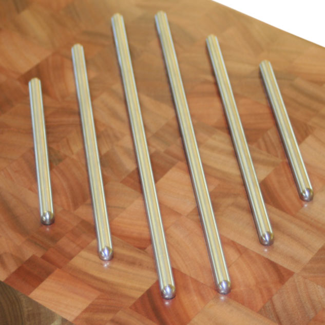 Butcher Block Countertops With Trivets By Grothouse