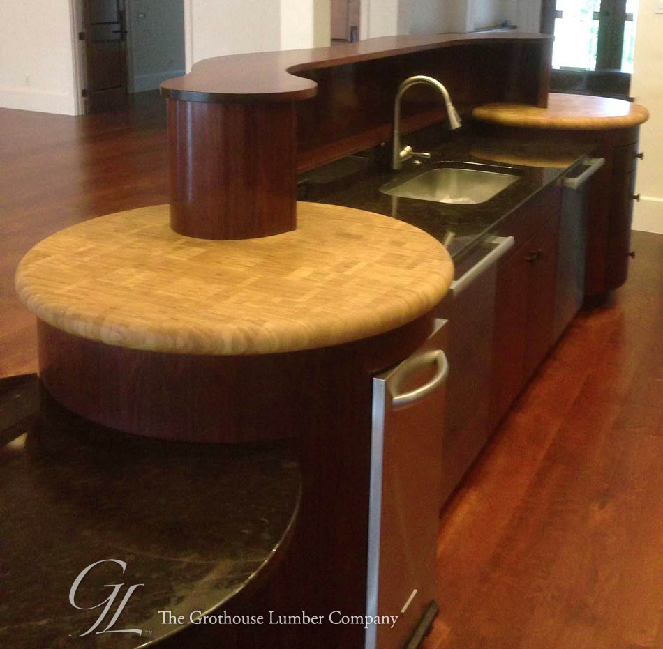Full Bullnose Countertop Edge Profile by Grothouse