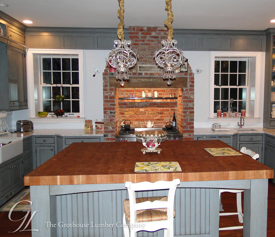 Cherry Butcher Block Countertop in NJ