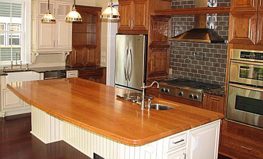 Cherry Wood Counter in New York