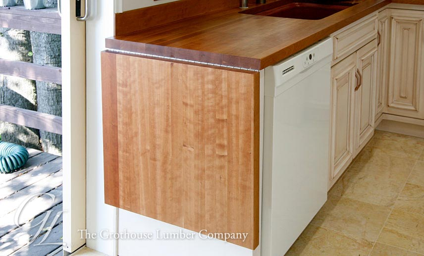American Cherry Wood Countertop With Drop Leaf In Oakland