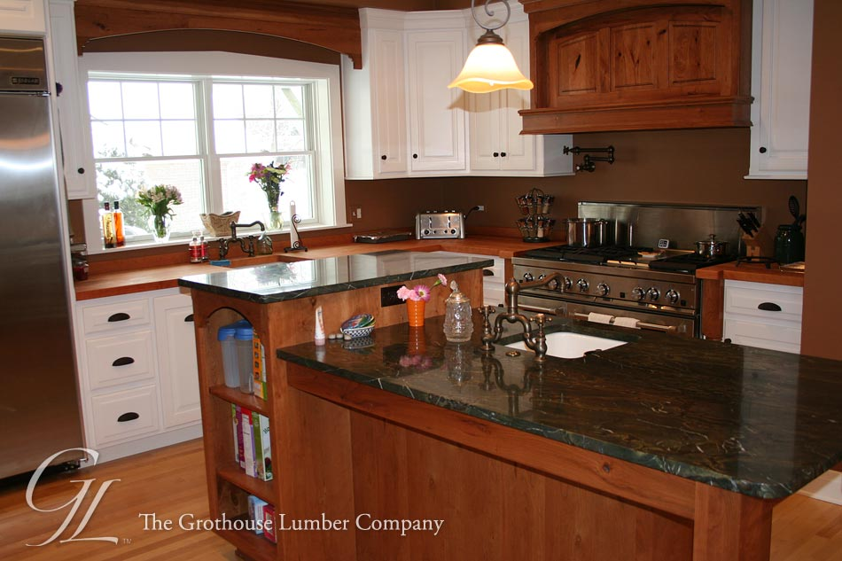 Custom Cherry Wood Counters in Addison, IL
