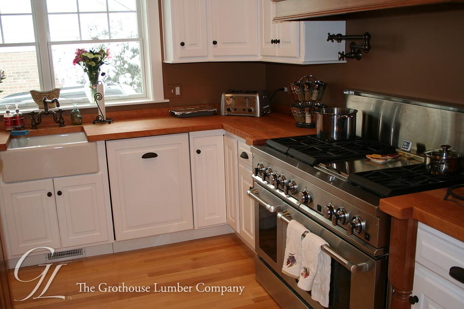 Custom Cherry Wood Counters in IL