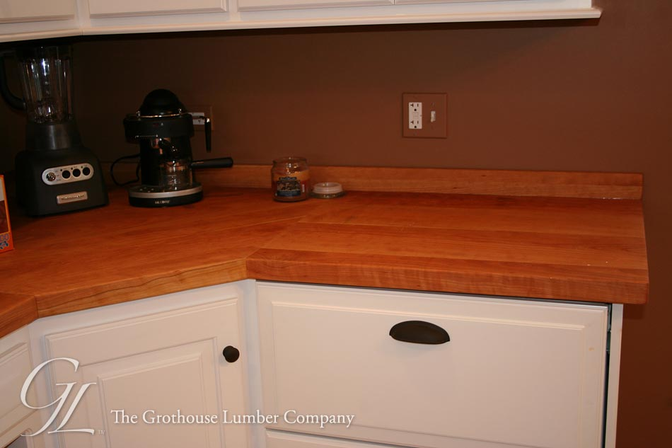 Custom American Cherry Wood Counter Illinois