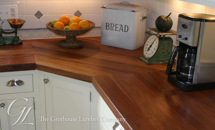 Custom American Cherry Wood Countertop