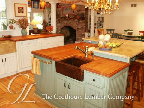 Cherry Wood Countertop in New Jersey