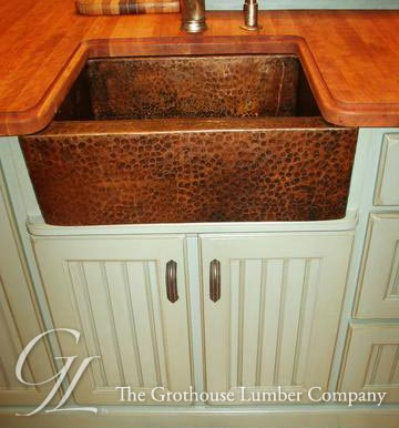 Cherry Wood Counter in Princeton, New Jersey