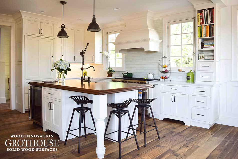 stained cherry wood kitchen island top in east hampton ny cherry kitchen island myideasbedroom com