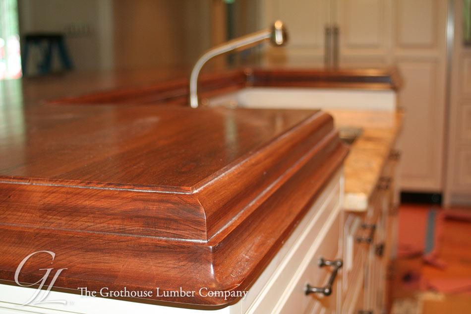 Cherry Wood Countertops For A Kitchen Island Philadelphia Pa